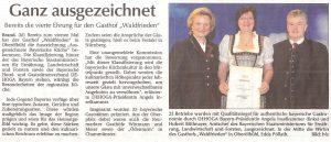 Ausgezeichnet Bayerische Kueche