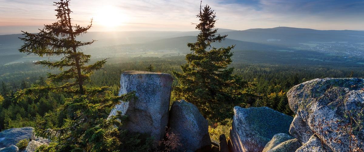 Prinzenfelsen Fichtelgebirge | Gasthof Pension Waldfrieden