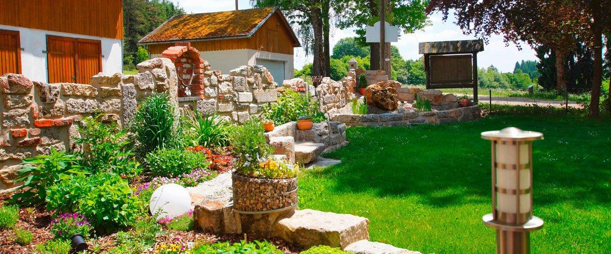 Garten | Gasthof Pension Waldfrieden
