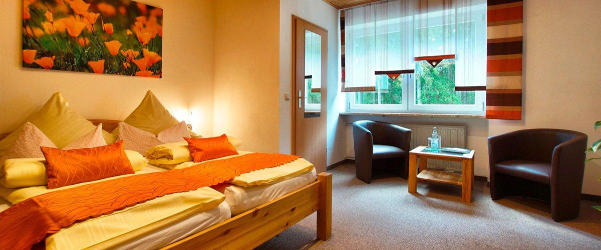 Doppelzimmer | Gasthof Pension Waldfrieden