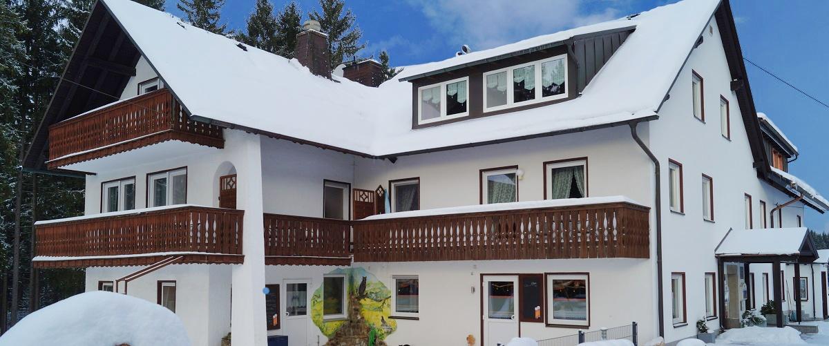 Winterurlaub im Fichtelgebirge | Gasthof Pension Waldfrieden
