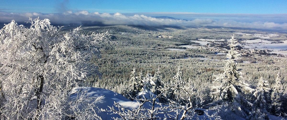 Winter im Fichtelgebirge | Gasthof Pension Waldfrieden