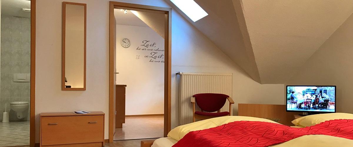 Ferienwohnung Hagebutte | Gasthof Pension Waldfrieden